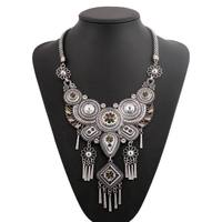 2015 Newest European Famous Brand CC Vintage Bohemian Ethnic Tribal Necklace Pendant For Women Turkish Jewelry