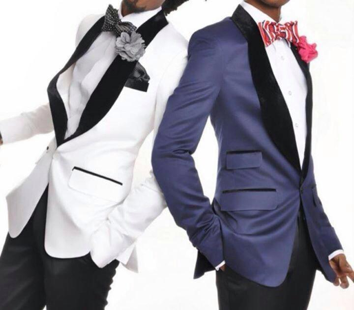 Fashionable One Button Shawl Collar Groom Tuxedos Groomsmen Mens Wedding Suits Prom Bridegroom (Jacket+Pants+Tie) NO:519
