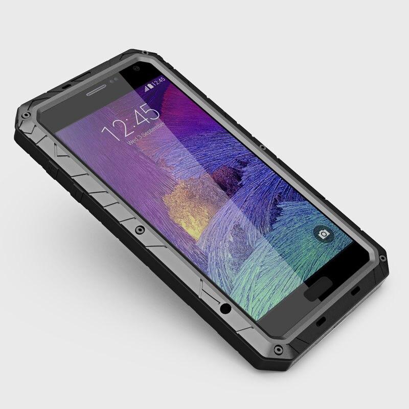 Цена за Оригинал IMatch водонепроницаемый противоударный Gorilla Glass алюминиевый чехол для Samsung Galaxy Note 2 N7100 случаи мобильного телефона