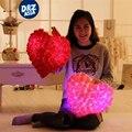 Creativo LED de Colores rosas de la boda almohada AMOR corazón cojines de almohada juguetes de peluche