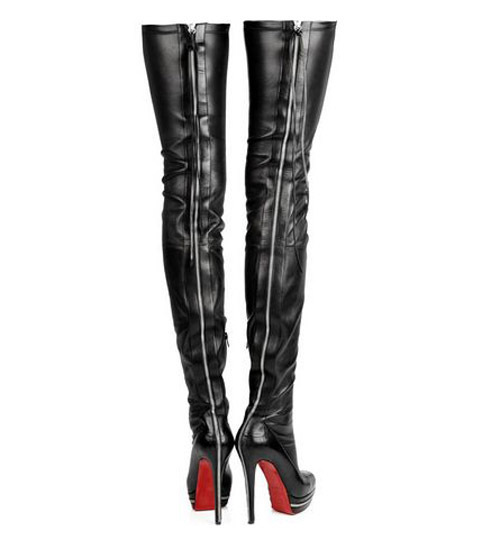Aliexpress.com : Buy Hot Sale Womens Soft Leather Thigh High Boots ...