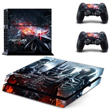 The Witcher Vinyl Cover Decal PS4 Skin Sticker