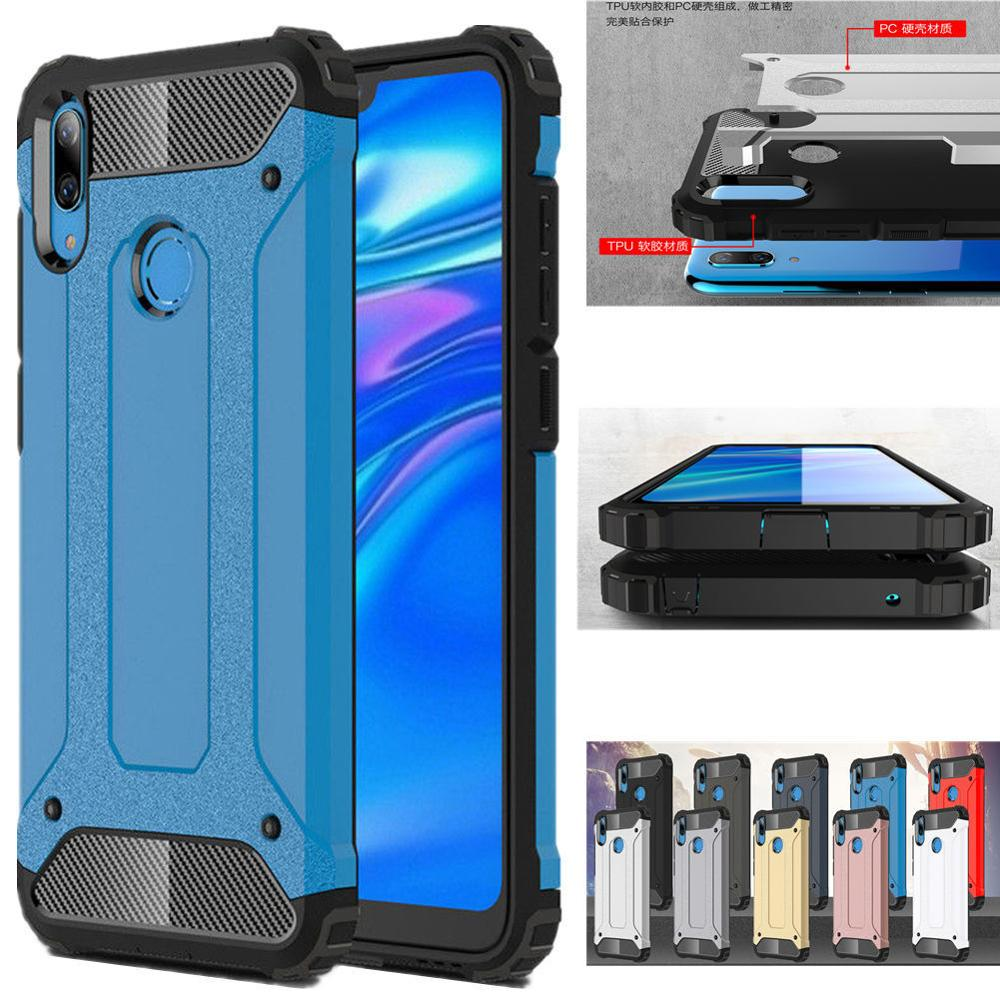 For <font><b>Huawei</b></font> <font><b>Y7</b></font> <font><b>2019</b></font> <font><b>Case</b></font> Armor <font><b>Cover</b></font> Hard PC + Silicone <font><b>Case</b></font> For <font><b>Huawei</b></font> Y 7 <font><b>Case</b></font> <font><b>Cover</b></font> For <font><b>Huawei</b></font> <font><b>Y7</b></font> <font><b>2019</b></font> Fundas image