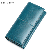 Sendefn Quality New Women's Purse Long Purse Large Capacity Wallets Leather Ladies Sample Style Carteira Feminina 5159 68