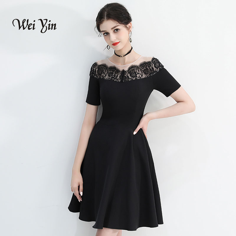 weiyin 2019 Style Summer Style Vestidos   Cocktail     Dress   Black   Dresses   Women Casual Jumpsuit Women WY816