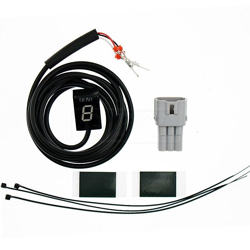 Moto LCD Électronique 6 Vitesse 1-6 Niveau Indicateur de Vitesse numérique de Vitesse Indicateur Pour Suzuki Intruder C800 M800 C1500 800 1500