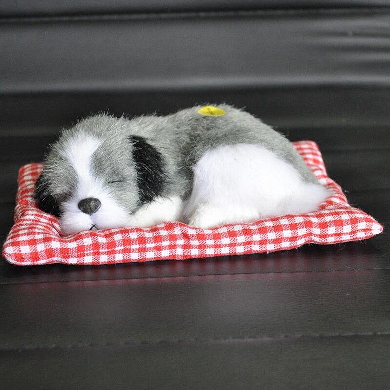 Quente bonito do bebê animal boneca de pelúcia dormir cães brinquedos recheados com som crianças kawaii natal aniversário presente do ano novo para crianças