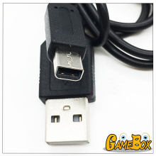 High Quality Black USB Power Charging Cable For Nintend DS i/DS i LL/3DS/3DS XL LL/NEW 3DS/NEW 3DS XL/LL USB Data Cable