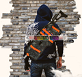 Игрушечный Пистолет водонепроницаемый Рюкзак Для Nerf Gun softbullet Пистолет Водяной Пистолет Может держать мягкой пуля профессиональный игрок игры На Открытом Воздухе оборудования