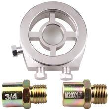 Для peugeot 106 M20 1,5 и 3/4-16 масляный фильтр охладитель Сэндвич пластина адаптер автомобильный измеритель модифицированный датчик температуры масла Датчик давления масла