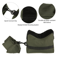 Front & Rear Gun Bag Tactical Hunting Rifle Gun Support Bag Outdoor Airsoft Shooting Rifle Bench Sandbag free shipping new tactical airsoft 5x periscope rifle scope airsoft optical kleptoscope lens for hunting shooting gun and weapon