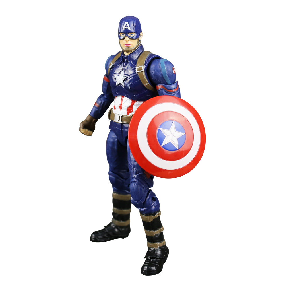 Captain America Figure Civil War Steve Rogers Tony Stark Iron Man Action Figures Model Toy Doll Gift Free Shipping free shipping marvel anime civil war action figures captain america statue avengers bust collection model toy fb197