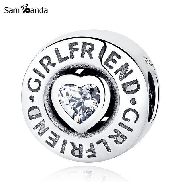 girlfriend pandora charm