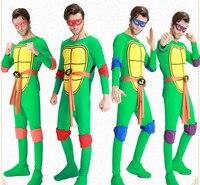 Anime/Film Ninja Turtles Cosplay Kostümleri Teenage Mutant Ninja Turtles Michelangelo Donatello TMNT vb Yetişkin Erkek/Kadın Kıyafet