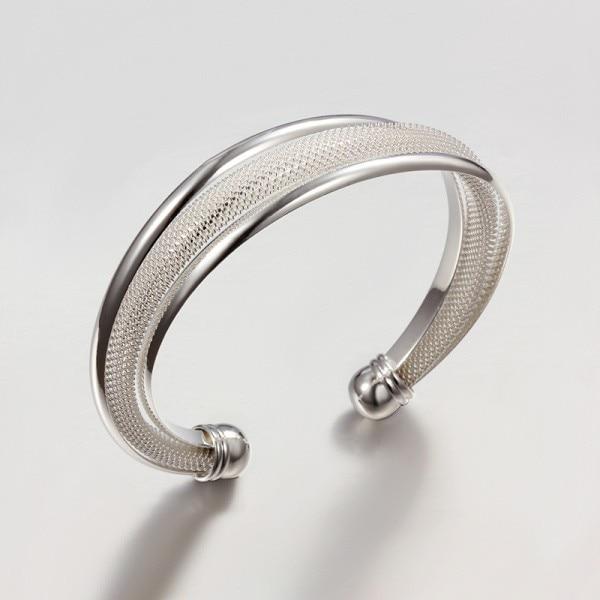 YHAMNI 925 Silver Bangle...