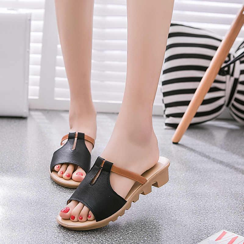 Người phụ nữ Sandal Giày Nữ Giày Nữ Giày Sandal Mùa Hè Nữ Flat Nền Tảng