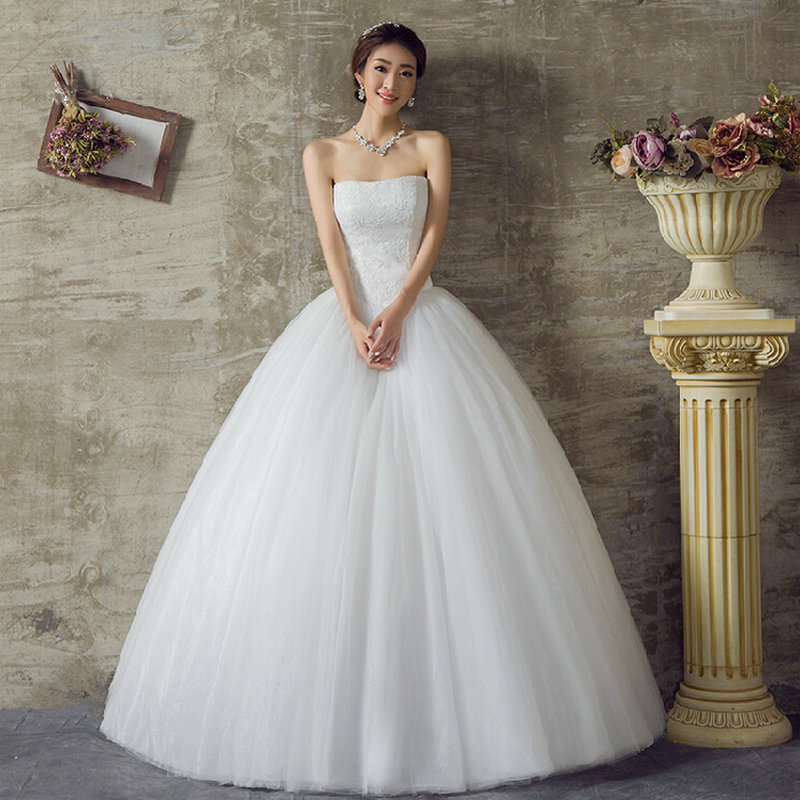 Aliexpress.com : Buy Hot Sale 2016 Cheap Wedding dress Real Sample ...
