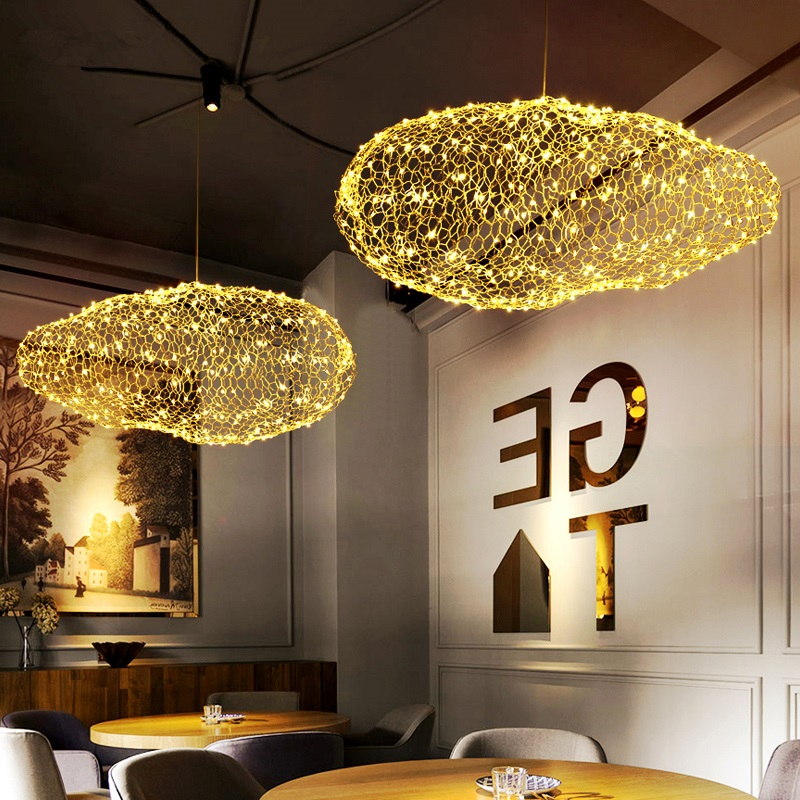 Modern Led Luminaires Wooden Chandelier Loft Novelty Fixtures Nordic Hanging Lights Childrens Lighting Living Room Chandeliers Lights & Lighting Chandeliers