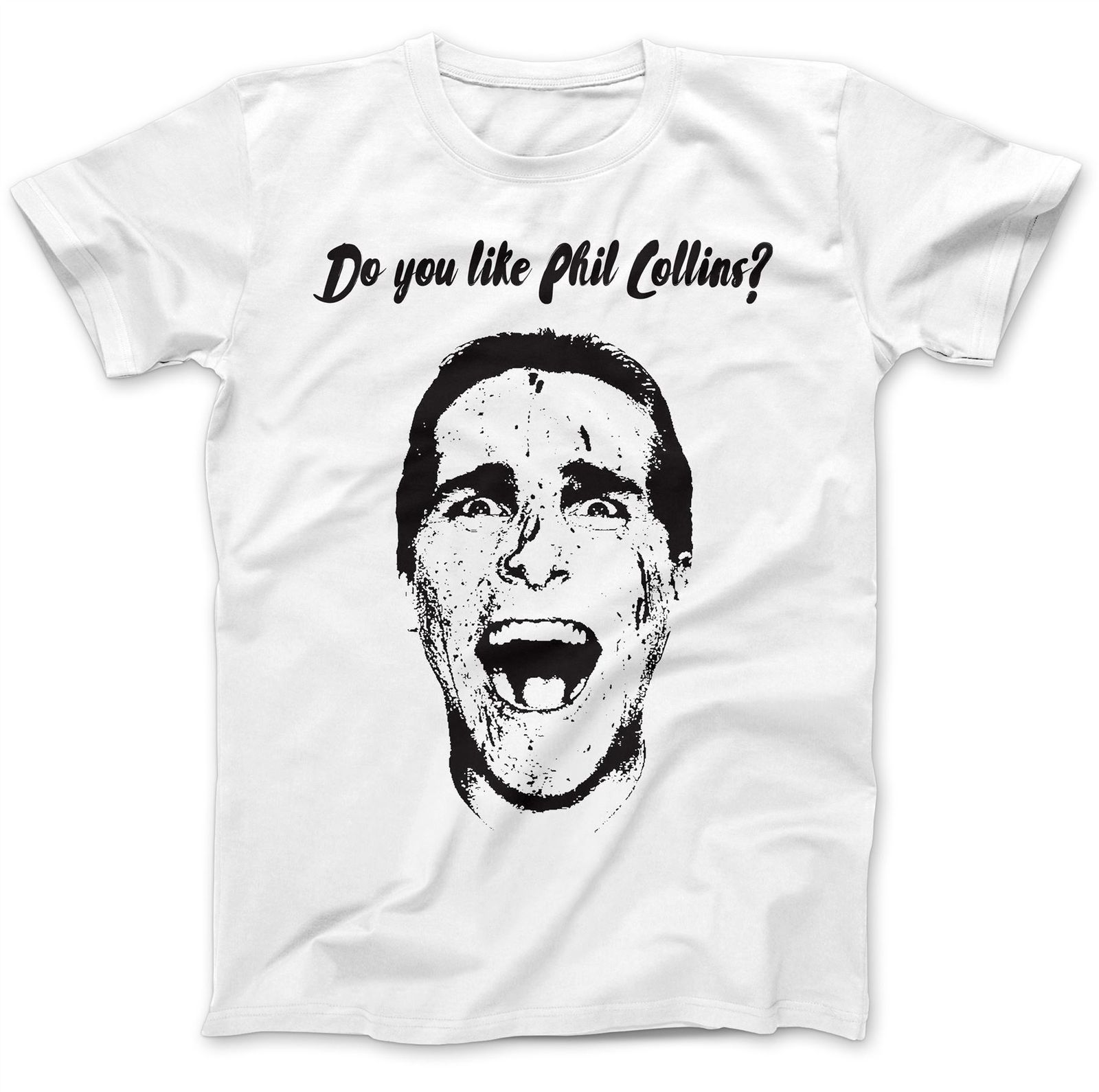 Christian Bale T-Shirt 100% Premium Cotton Printed Summer Style Tees Male Harajuku Top Fitness Brand Clothing Slim
