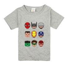Children Superhero Cotton Comfort T shirt