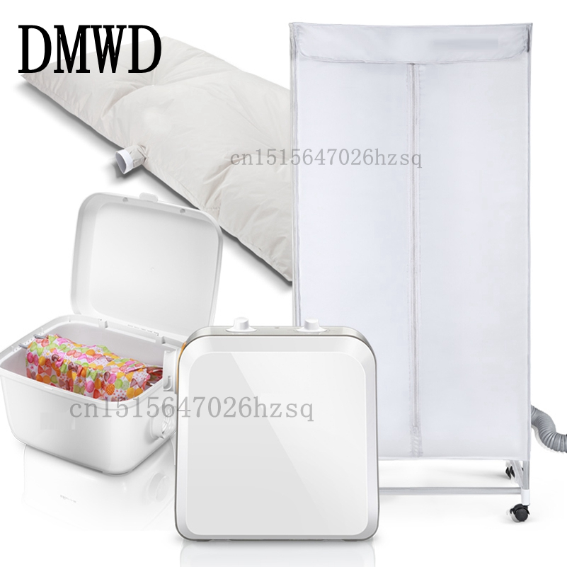 DMWD household electric Clothes Dryers for clothes bed Warm air machine 730W 10-15kg big capacity salter air fryer home high capacity multifunction no smoke chicken wings fries machine intelligent electric fryer