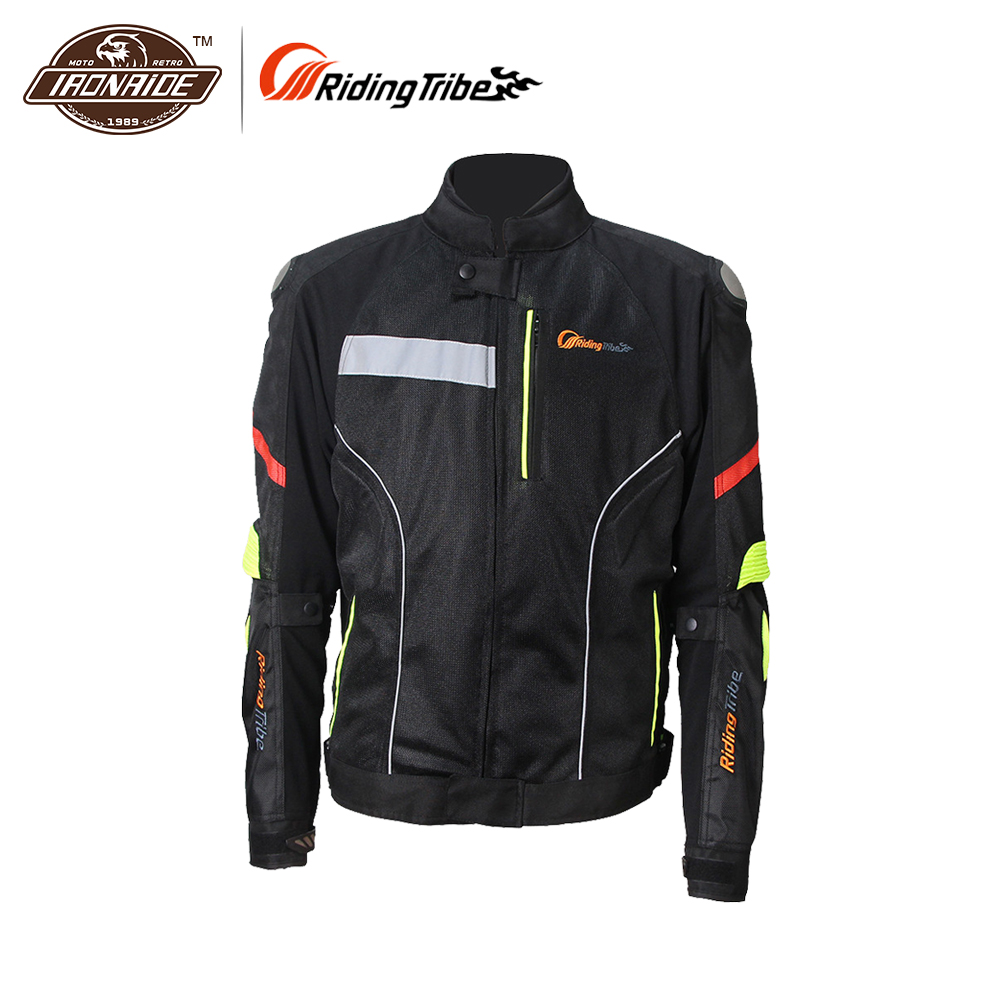 Riding Tribe Windproof Motorcycle Jacket Moto Jacket Men Motorbike Jacket Men Motorcycle Clothes JK-27 M-XXXL Size summer riding tribe jk 08 motorcycle jacket with body armor ventilate mesh fabric jaqueta jaquetas moto m l xl xxl xxxl