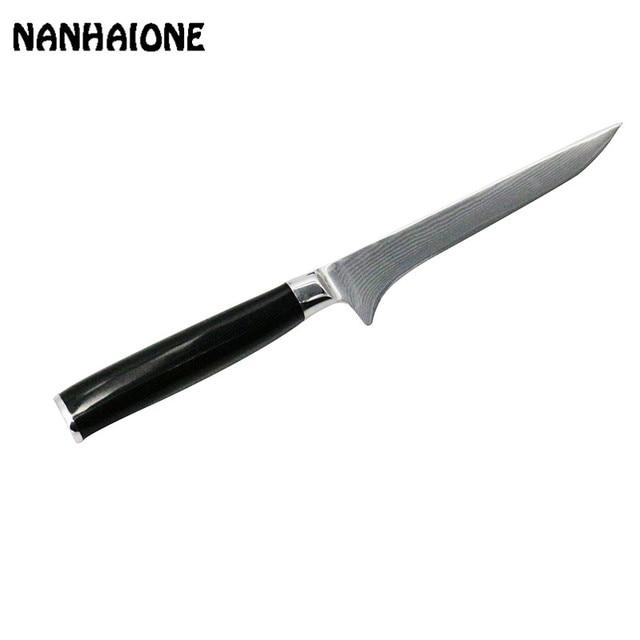 Nanhaione High Grade Damascus Steel Boning Knife Kitchen Bakery Tools Quality 6
