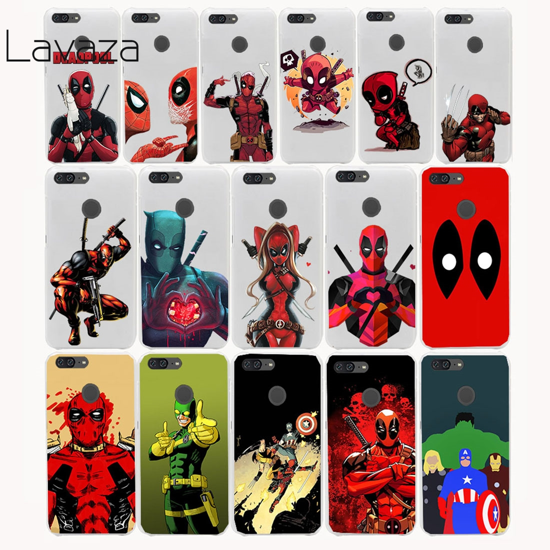 Lavaza 12FF Marvel Soldier Deadpool Hard Case for Huawei Honor 8 9 lite 6 6a 6x 7 7x Y3II Y5II Y6II Y3 Y5 Y6 2017