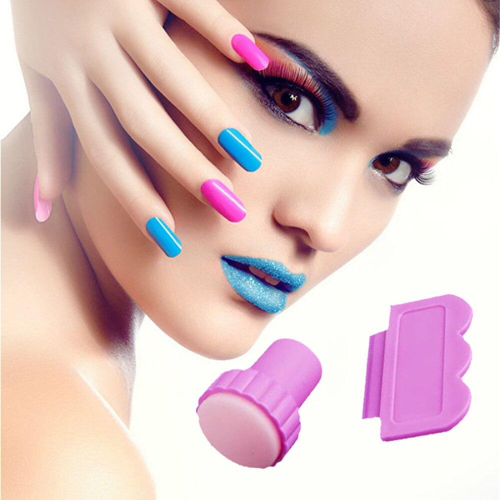 Nail Art Image Stamp Stamping Plates Manicure Set For Diy 1 Stamper