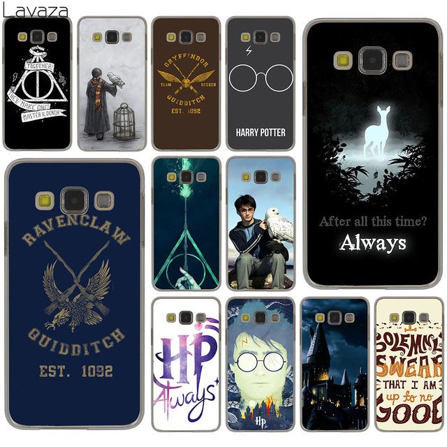 timeless design ba1e4 c4a08 US $2.55 |Lavaza Harry Potter always Slytherin School Hard Case for Samsung  Galaxy S10 S10E S8 Plus S6 S7 Edge S9 Plus Phone Cover-in Half-wrapped ...