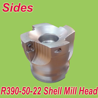 Free Shiping R390 50 22 4T Face Mill Head Cutter Shell Mill 50mm for R390 11t8