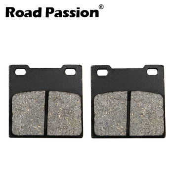 Road Passion Motorcycle Rear Brake Pads For SUZUKI RF900 RF 900 RT/RV/RW 1996-98 GSX-R GSXR 1100 1986-98 GSX 1200 F 1998-1999 image