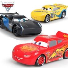 Disney New Cars 3 Pixar 22cm Plastic Emulational Model Toys Pull Back Car Carros McQueen Storm Jackson Cruz Cars Gifts for Kids