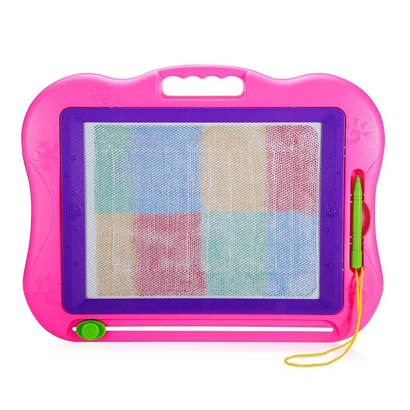 Generic Magnetic Drawing Board Colorful Erasable Large Size Doodle Sketch