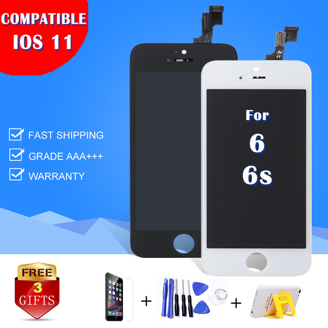 """Hot Sale For Iphone 6 6S 4.7"""" Inch LCD Screen with touch digitizer replacement Display Grade AAA Mobile phone parts brand New"""