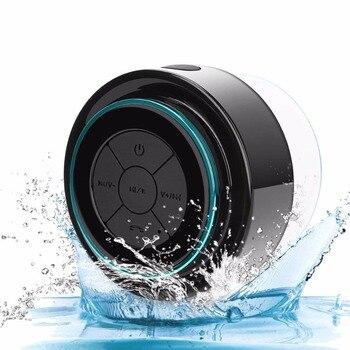 F012 haut-parleur Bluetooth étanche sans fil, Mini poche Portable mains libres, IP67 flottant pour salle de bain douche plage en plein air