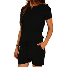 New Fashion Women Casual Cropped Zipper Short Sleeve Sweatshirts Tops Sexy Shorts Two Pieces Sets Suits