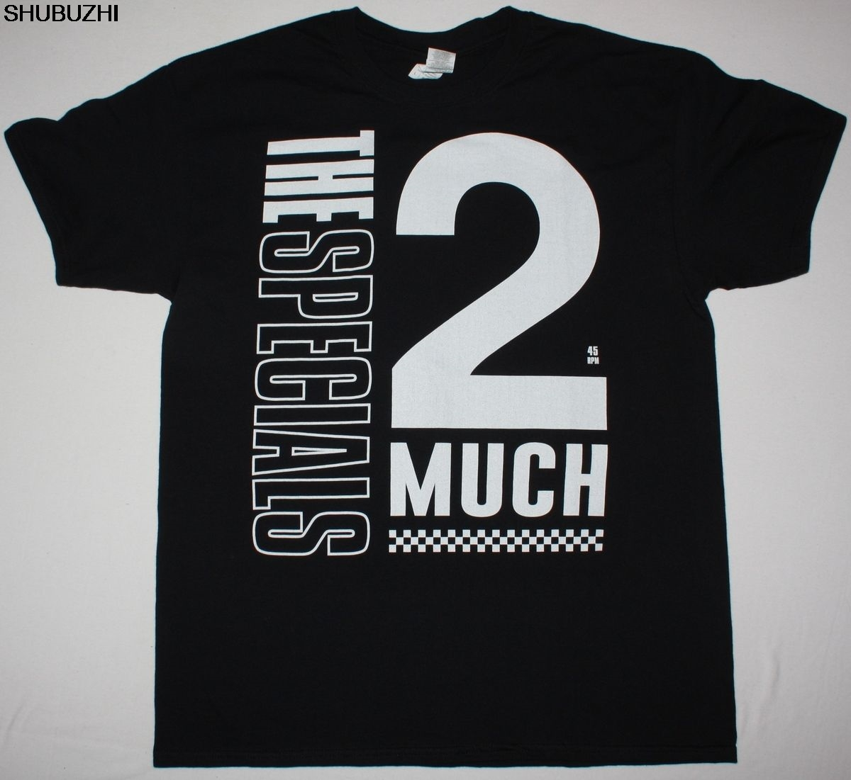 Official Ladies Skinny T Shirt THE SELECTER Ska Band LOGO Black All Sizes
