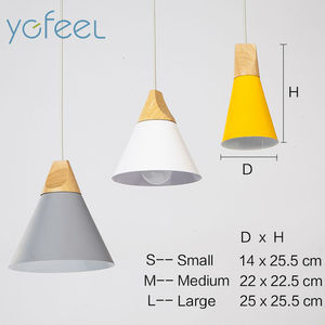 Image 5 - [YGFEEL] Modern Dining Room Pendant Light 3 Heads Round/Rectangle Ceiling Plate Indoor Living Room Bedroom Decoration Lamp