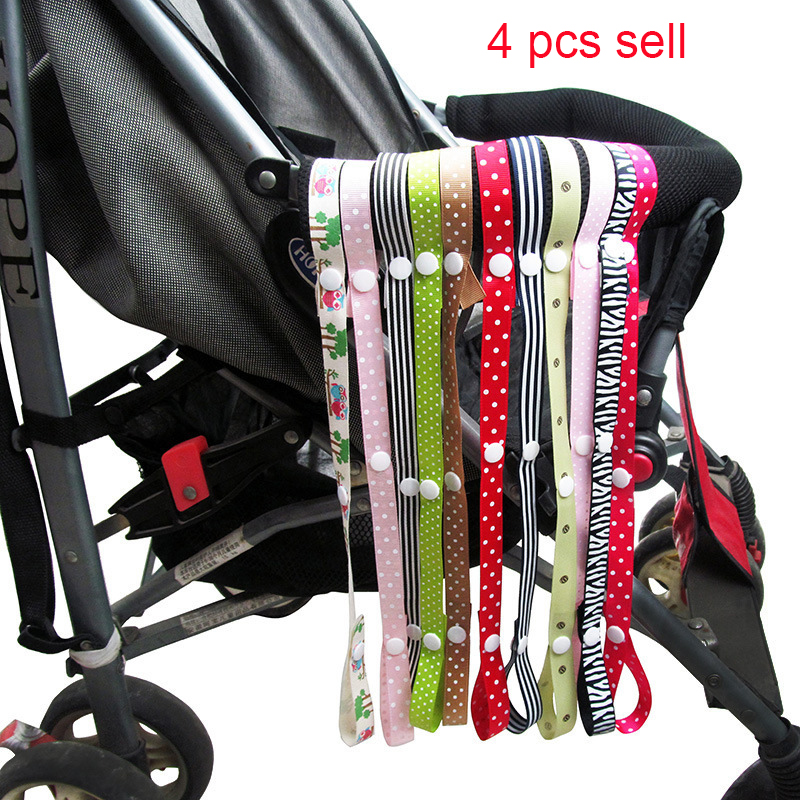 Baby toys string stroller strap organizer pram hooks hanger for baby car carriage buggy stroller accessories hanger lanyard 4pcs