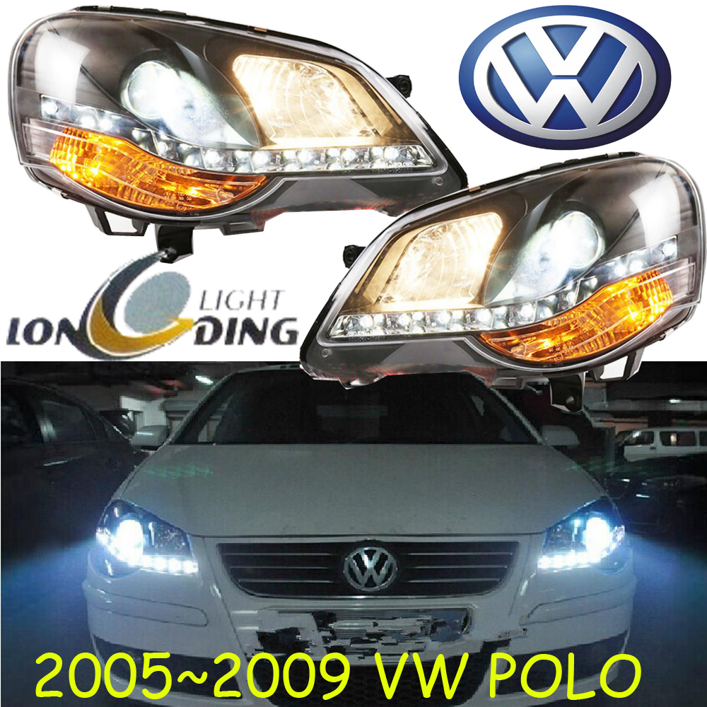 Polo headlight,2005~2009/2011~2015,Free ship!Polo fog light,2ps/se+2pcs Ballast,tiguan,touareg, Polo nv200 fog light 2009 2015 2pcs nv200 halogen light free ship nv200 headlight nv 200