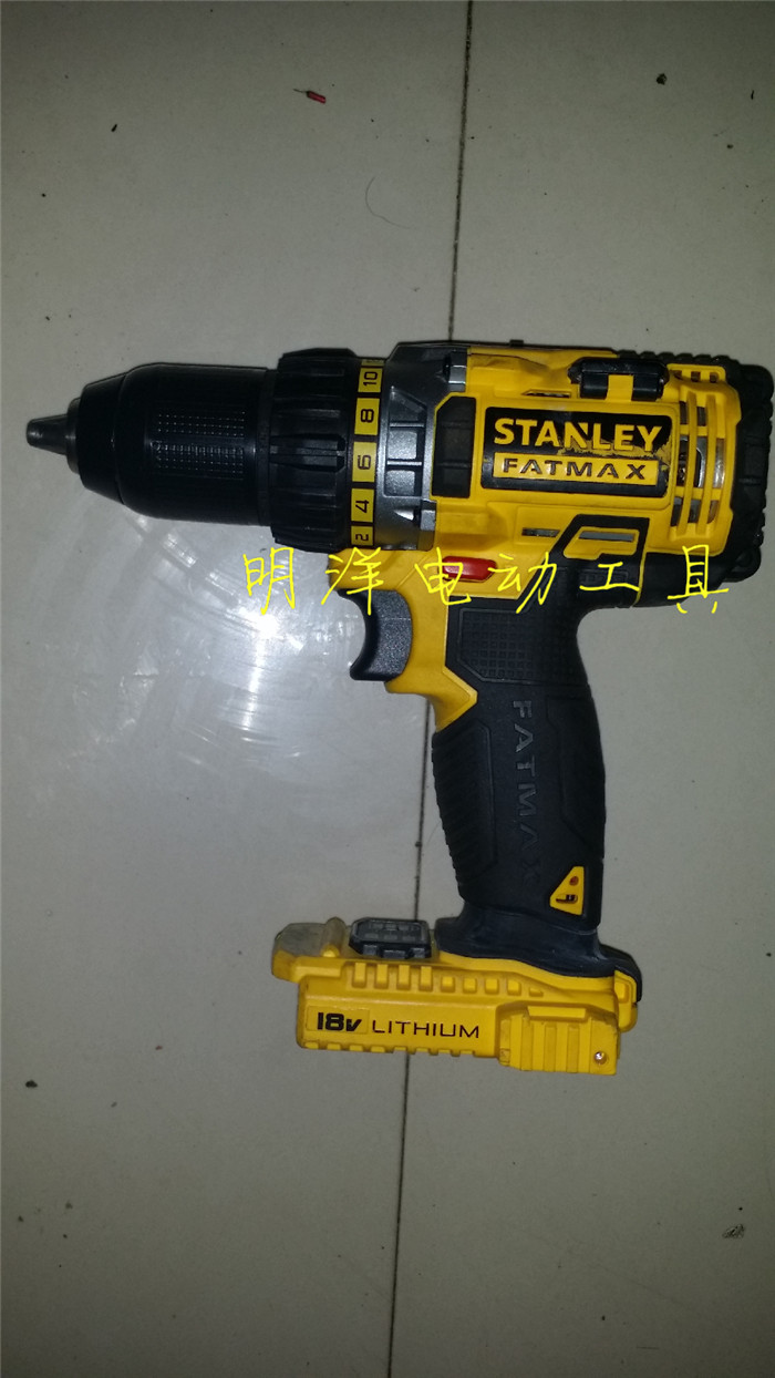 Stanley 18v Lithium Drill Electric Screwdriver Batch Fmc625 Battery Brushless Impact Driver Indicator 2 Speed Dual Strong Magnetic Stripe In Screwdrivers From Tools On