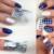 5 unids specail uñas polaco vanish para nail art stamping 5 unids sello imagen konad nail plantillas plantillas del salón de las mujeres maquillaje
