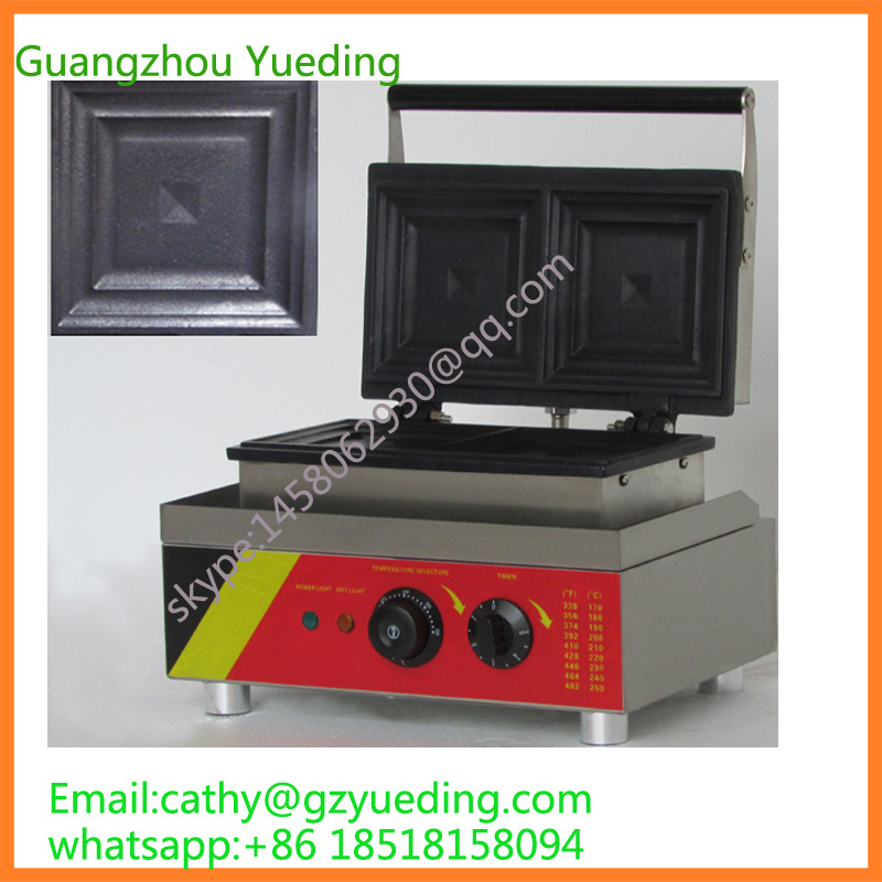 Sandwich machine for sale / Hot sale sandwich waffle maker hot sale 32pcs gas bean waffle maker