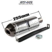 28mm Universal Motorcycle Pit Dirt Bike Exhaust Muffler Pipe 50cc 110cc 125cc ATV Kayo BSE