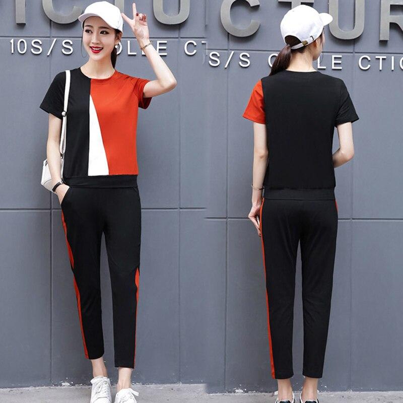 15854b0cd5 Marca de moda 2019 camisetas mujeres T camisas o-Cuello de manga corta de  verano