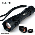 FL023 Led Flashlight 3800 lumens XML-t6 led Torch Zoomable LED Flashlight Torch light lampe torche