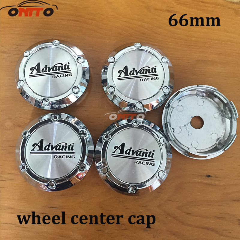 Hot 4X66MM Advanti VOSSEN Emblem VOLK RAYS Sticker Wheel Center Cap Hub Cap For Rim Wheel Car-Cover car styling