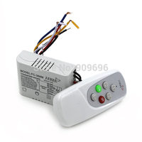 3 Ways Port ON OFF 200V 240V Light Digital Wireless Wall Switch Remote Control Switch