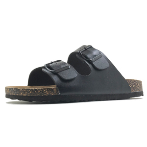 Image 2 - New 2019 Summer Style Shoes Woman Sandals Cork Sandal Top Quality Buckle Casual Slippers Flip Flop Plus size 6 11 Free S